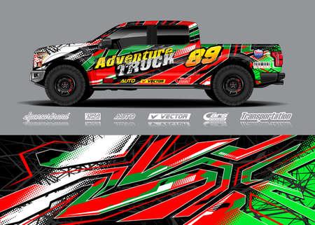 Adventure truck livery designs