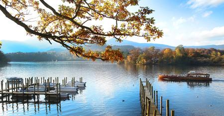湖水地方イギリスの船: