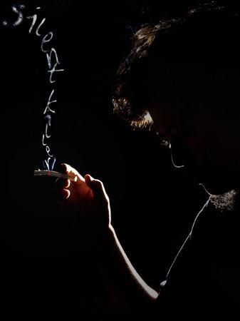 lungcancer: Stop Smoking  Silent Killer