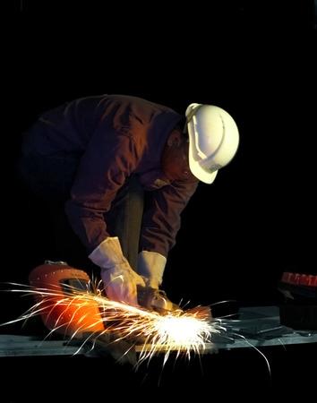 ironworks: Industrial Welding Man