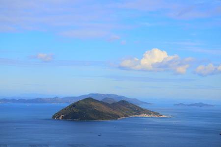 悪魔で瀬戸内海に生息する女木島という 写真素材