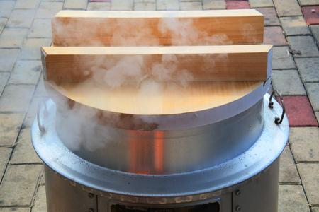 일본의 전통 요리 스토브