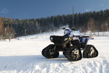 snow ATV photo