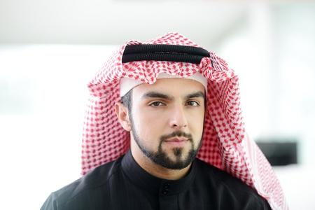 arabic man: Modern arabic businessman