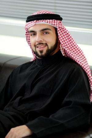 Modern arabic businessman photo