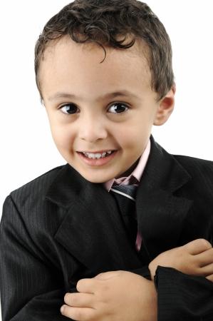 blazer: Portrait of Arabian Little Boy