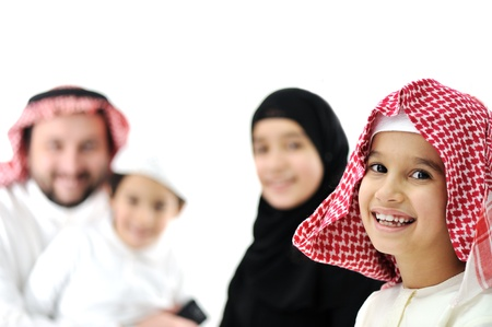 arabic: Happy family