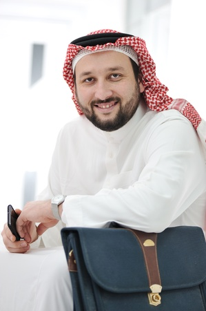 Portrait of arabic businessman photo