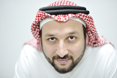 Portrait of Middle Eastern adult man photo