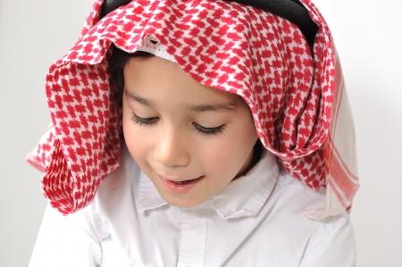 Middle Eastern Arabic Little Boy photo