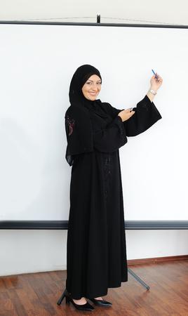 fille arabe: Belle femme arabe musulmane Banque d'images