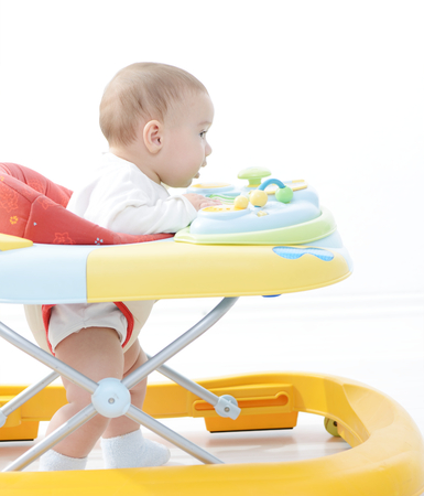Baby walker Reklamní fotografie