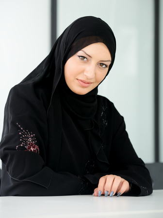 purdah: Beautiful muslim arabic woman