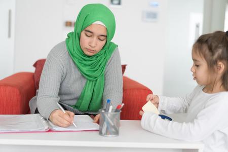 Balancing Work and Family Reklamní fotografie