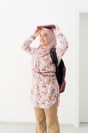 Arabic student girl