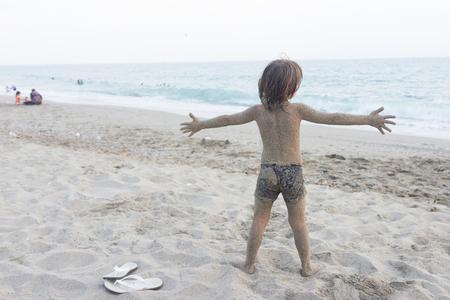 Enjoying summer vacation Reklamní fotografie