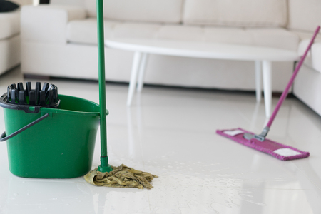 Modern house needs cleaning