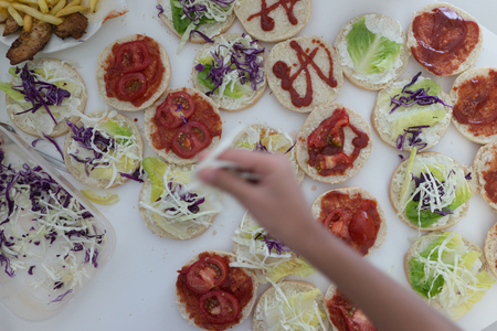 Making burgers
