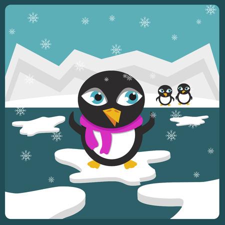 Penguins Stock Vector - 8324251