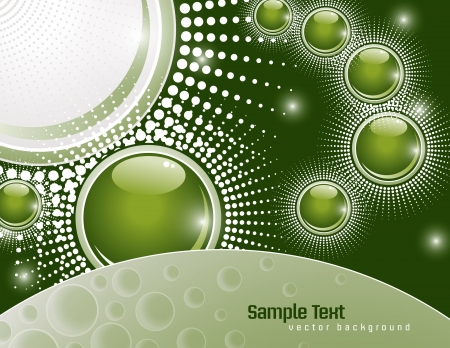 Abstract Background  Vector Illustration  Vector