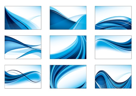 Set of Abstract Backgrounds  Vector Eps10