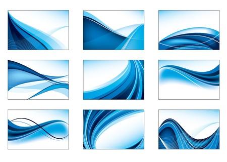 Set van Abstracte Achtergronden Vector Eps10