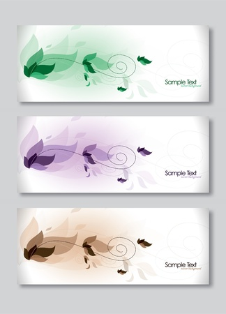 Set of Three Banners  Stock Vector - 14406019