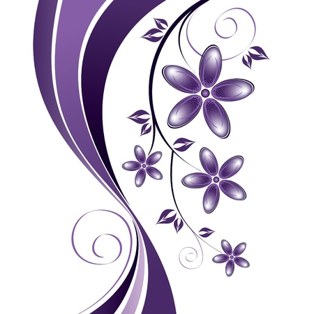 Flowers  Abstract Background  Vector Stock Vector - 14371998