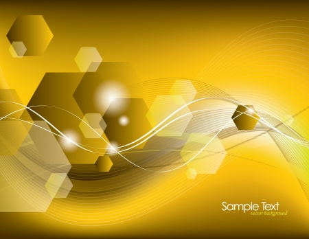 Vector Background  Abstract Illustration  Stock Vector - 14434857