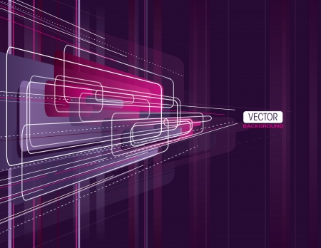 strips away: Vector Background  Abstract Illustration