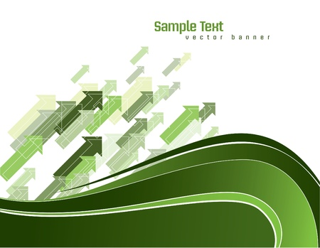green swirl: Vector Background  Abstract Illustration