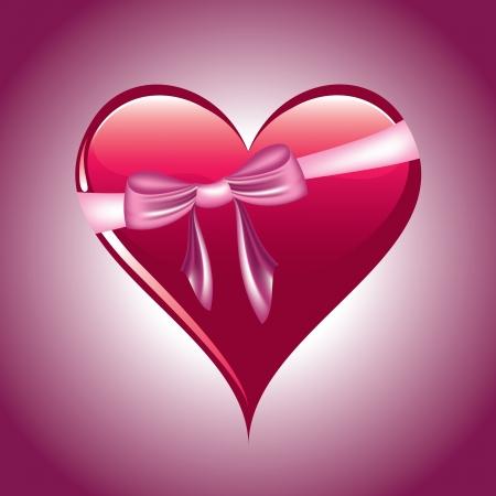 Heart  Illustration  Stock Vector - 14435889