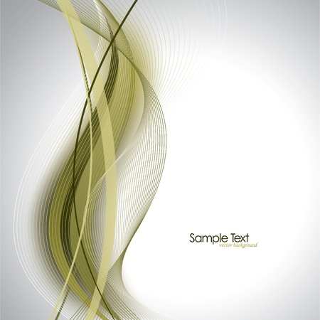 lineas onduladas: Ilustraci�n de fondo abstracto