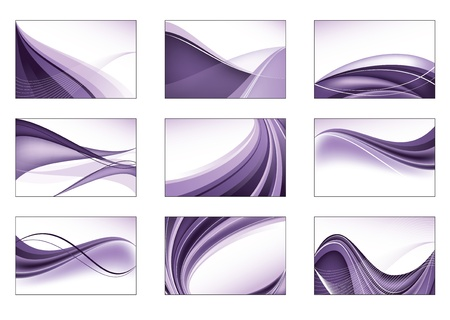 Set of Abstract Backgrounds