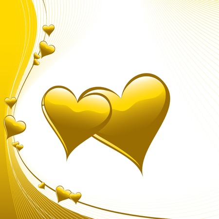Hearts  Illustration Stock Vector - 14533775