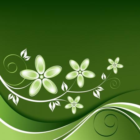 season: Floral Background  Illustration