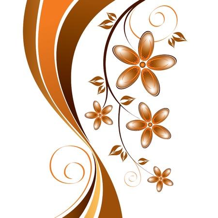 backdrop: Floral Background  Illustration