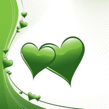 Herz-Illustration Standard-Bild - 14602554