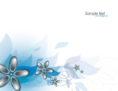 Ilustración de fondo floral Foto de archivo - 14692290