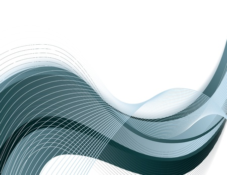 abstract waves:  Background  Abstract Illustration