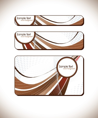 Set of Abstract Backgrounds Stock Vector - 14692159