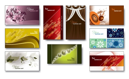 Business Card Templates  Illustration