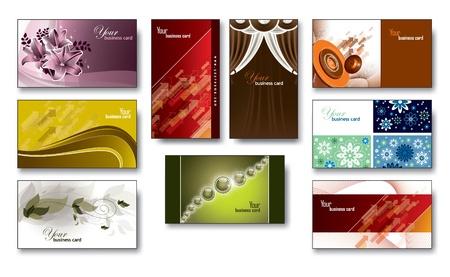 Business Card Templates  Illustration