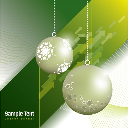 happy new year: Christmas Background  Abstract Illustration  Illustration