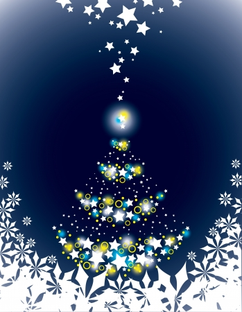 Christmas Background  Abstract Illustration  Stock Vector - 14985755