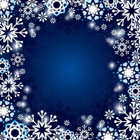 crystallization: Christmas Background
