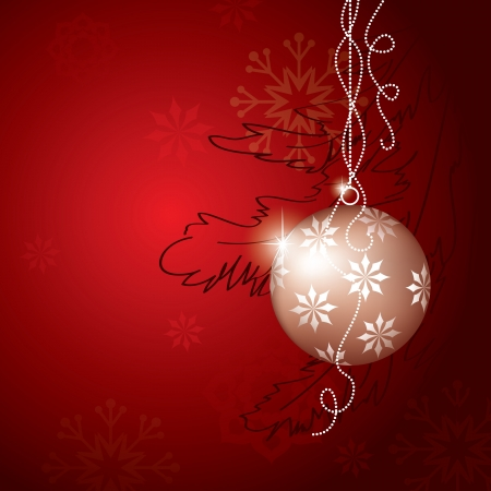 Christmas Background Stock Vector - 14985753