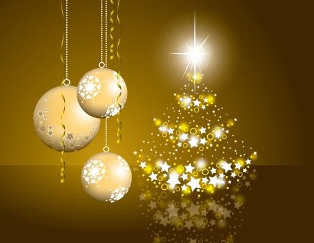gold christmas background: Christmas Background