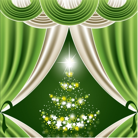 Christmas Background  Abstract Illustration Stock Vector - 14987546