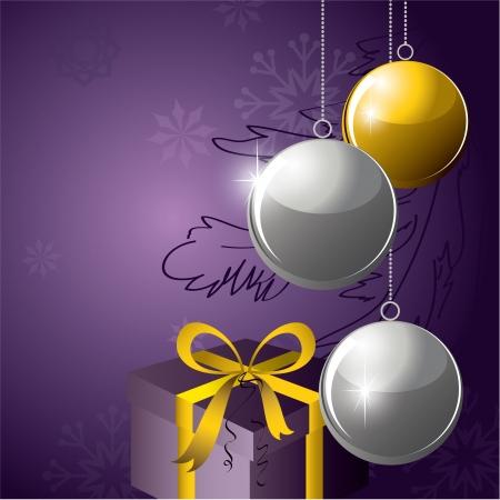 Fondo De Navidad Foto de archivo - 14987354